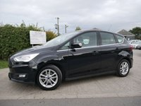 USED 2015 15 FORD C-MAX 1.6 ZETEC 5d 124 BHP FULL FORD SERVICE HISTORY, ONE FORMER KEEPER FROM NEW, 2 KEYS,
