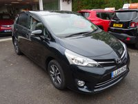 USED 2014 64 TOYOTA VERSO 1.6 VALVEMATIC ICON 5d 131 BHP 7 SEATER Low Mileage, Full Service History + Serviced by ourselves, Minimum 6 months MOT, One Previous Owner, 7 Seater, 6 Speed Gearbox