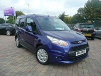 2014 FORD TOURNEO CONNECT 1.6 ZETEC TDCI 5d 94 BHP £7699.00