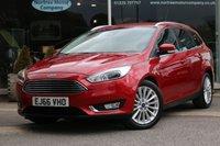2016 FORD FOCUS 1.5 TITANIUM X 5d AUTO 180 BHP £15831.00