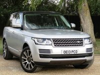2013 LAND ROVER RANGE ROVER 3.0 TDV6 VOGUE 5d AUTO 258 BHP OPENING PANORAMIC ROOF £39990.00