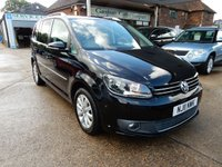 USED 2011 11 VOLKSWAGEN TOURAN 2.0 SPORT TDI 5d 142 BHP FRONT AND REAR SENSORS,TWO KEYS,CRUISE,FULL HISTORY,AIR CON,7 SEATS