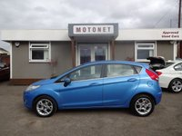 2012 FORD FIESTA 1.2 ZETEC 5DR 82BHP £SOLD