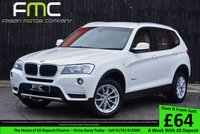 USED 2012 62 BMW X3 2.0 XDRIVE20D SE 5d 181 BHP Low Mileage - Full Leather Seats - Heated Front Seats