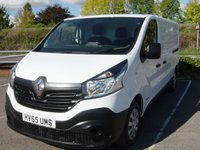 2015 RENAULT TRAFIC 1.6 LL29 BUSINESS DCI S/R P/V 1d 115 BHP LONG WHEELBASE £8995.00