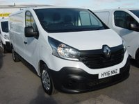 2016 RENAULT TRAFIC 1.6 LL29 BUSINESS DCI S/R P/V 1d 115 BHP LONG WHEELBASE £9495.00