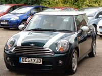 USED 2008 57 MINI HATCH COOPER 1.6 COOPER D 3d 108 BHP