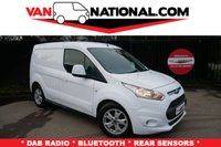2015 FORD TRANSIT CONNECT 1.6 200 LIMITED P/V 115 BHP (AIR CON ALLOYS COLOUR CODED) £10489.00
