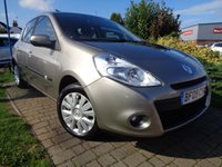 USED 2009 09 RENAULT CLIO 1.1 EXPRESSION 16V 5d 74 BHP **Ideal 1st Car S/History 12 Months Mot**