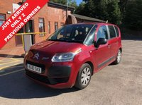 USED 2010 10 CITROEN C3 PICASSO 1.6 PICASSO VT HDI 5d 90 BHP Having just arrived this excellent Citreon C3 Picasso has had just 2 Previous Owners, has an MOT until 11.1.2019 and comes with 2 Keys and a Free RAC Warranty and Free RAC Breakdown Cover. Nationwide Delivery Available. Finance Available at 9.9% APR representative.