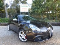USED 2013 13 ALFA ROMEO GIULIETTA 2.0 JTDM-2 SPORTIVA 5dr Full Black Leather, Sat Nav