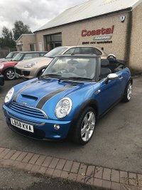 USED 2009 58 MINI CONVERTIBLE 1.6 COOPER S 2d 168 BHP