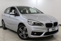 USED 2015 65 BMW 2 SERIES ACTIVE TOURER 2.0 218D SPORT ACTIVE TOURER 5DR 148 BHP SAT NAV Full Service History FULL SERVICE HISTORY + SATELLITE NAVIGATION + REVERSE CAMERA + BLUETOOTH + CRUISE CONTROL + PARKING SENSOR + MULTI FUNCTION WHEEL + CLIMATE CONTROL + 17 INCH ALLOY WHEELS