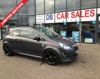 2013 VAUXHALL CORSA 1.2 LIMITED EDITION 3d 83 BHP £4495.00