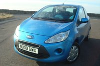 2009 FORD KA 1.2 STYLE PLUS 3d 69 BHP AIR CON £1495.00