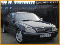 USED 1999 V MERCEDES-BENZ S CLASS 5.0 S500 L 4d AUTO 302 BHP *ONLY 73K MILES, HUGE SPEC!*