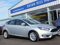 USED 2015 65 FORD FOCUS 1.0 EcoBoost  ZETEC 5dr  (100 bhp) (£20 R/tax. ONE OWNER)