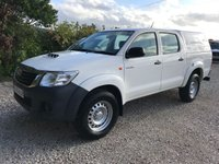 USED 2015 65 TOYOTA HI-LUX 2.5 D-4D ACTIVE D/CAB 4X4 PICKUP **VERY LOW MILES**