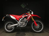 2018 HONDA CRF 250 LA-H. ONLY 70 MILES. LATEST MODEL WITH 2 MODE ABS £3950.00