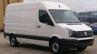2014 VOLKSWAGEN CRAFTER 2.0 CR35 TDI H/R P/V 1d 135 BHP 1 OWNER F/S/H  12 MONTHS WARRANTY COVER \ £8990.00