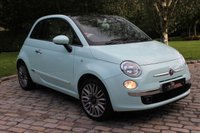2015 FIAT 500 1.2 LOUNGE 3d 69 BHP £6550.00