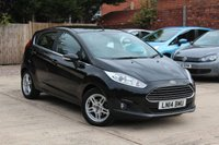 USED 2014 14 FORD FIESTA 1.2 ZETEC 5d 81 BHP **** £30 ROAD TAX * BLUETOOTH *  AIR CONDITIONING ****