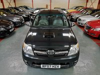2007 TOYOTA HI-LUX 3.0 D-4D INVINCIBLE 4X4 D/C AUTO  £10750.00
