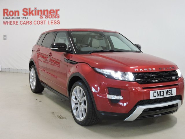 View our 2013 LAND ROVER RANGE ROVER EVOQUE 2.2 SD4 DYNAMIC 5d 190 BHP