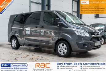 93452c0788 Used Ford Tourneo Custom vans in Hexham from Eden Commercials