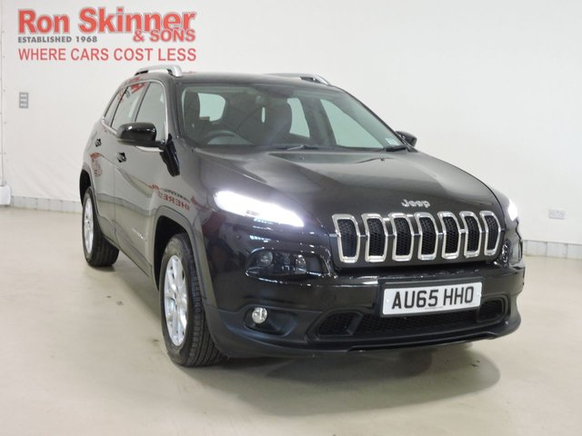 View our 2015 65 JEEP CHEROKEE 2.0 M-JET LONGITUDE PLUS 5d 138 BHP