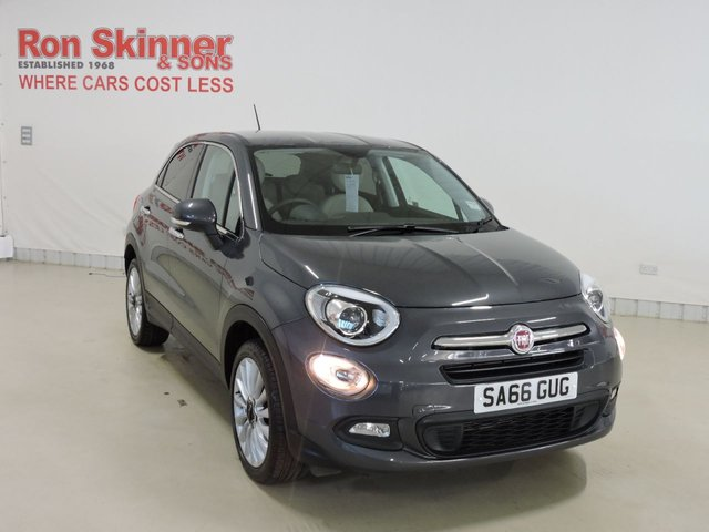 View our 2016 66 FIAT 500X 1.6 LOUNGE 5d 110 BHP