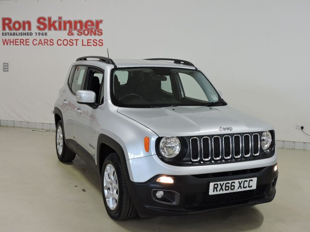 View our 2016 66 JEEP RENEGADE 1.4 LONGITUDE 5d 138 BHP
