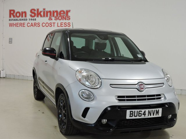 View our 2014 64 FIAT 500L 1.6 MULTIJET BEATS EDITION 5d 120 BHP with Black Roof