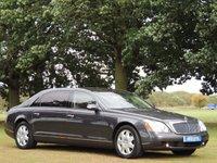2005 MAYBACH 62 5.5 V12 4d AUTO 550 BHP £55000.00