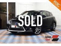 2016 LEXUS CT 1.8 200H F SPORT 5d AUTO 134 BHP £16985.00