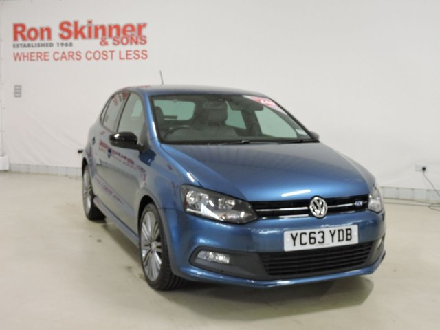 View our 2013 63 VOLKSWAGEN POLO 1.4 BLUEGT 5d 140 BHP