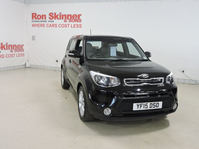 View our 2015 15 KIA SOUL 1.6 CONNECT 5d 130 BHP