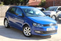 USED 2013 63 VOLKSWAGEN POLO 1.2 MATCH EDITION 5d 69 BHP **** BEAUTIFUL CONDITION  ****