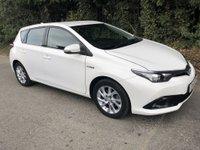 2016 TOYOTA AURIS 1.8 VVT-I ICON 5d AUTO 99 BHP £12995.00