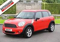USED 2011 11 MINI COUNTRYMAN 1.6 ONE 5d 98 BHP Finance options available