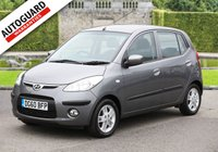 USED 2010 60 HYUNDAI I10 1.2 COMFORT 5d AUTO 77 BHP Finance options available