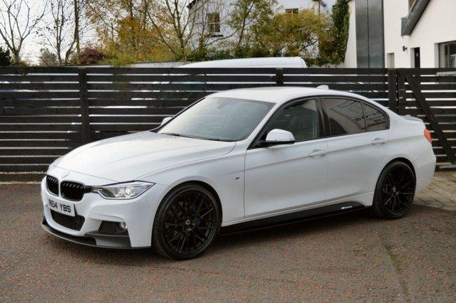 2014 14 BMW 3 SERIES 2.0 320D M SPORT PLUS 4d AUTO ALPINE WHITE