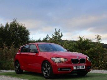 2013 BMW 1 SERIES 1.6 116I SPORT 5d 135 BHP £9990.00
