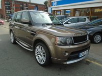 2012 LAND ROVER RANGE ROVER SPORT 3.0 SDV6 HSE 5d AUTO 255 BHP £19994.00