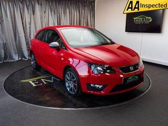 2014 SEAT IBIZA 1.4 TSI ACT FR EDITION 3d 140 BHP £8400.00