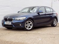 2015 BMW 1 SERIES 1.5 116D ED PLUS 5d 114 BHP £9479.00