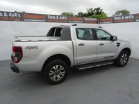 USED 2016 16 FORD RANGER 3.2 WILDTRAK 4X4 DCB TDCI 1d AUTO 197 BHP FORD RANGER 3.2 WILDTRACK AUTO