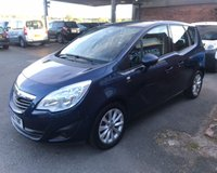 USED 2012 12 VAUXHALL MERIVA 1.2 ACTIVE CDTI 5d 74 BHP ONE OWNER, FULL VAUXHALL SERVICE HISTORY