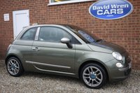 USED 2009 09 FIAT 500 1.2 BY DIESEL 3d 69 BHP LTD EDITION