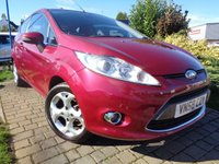 USED 2008 58 FORD FIESTA 1.4 ZETEC 16V 3d 96 BHP **Ideal 1st Car S/History 12 Months Mot**